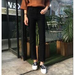 MISS YOYO - 散擺高腰牛仔褲