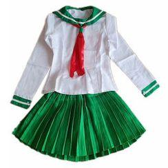 Kaneki - Inuyasha Higurashi Kagome Cosplay Costume