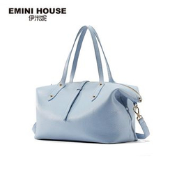 Emini House - Genuine Leather Carryall Bag