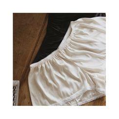 MASoeur - Fray-Hem Boots-Cut Pants