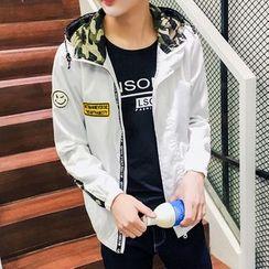Bay Go Mall - Hooded Zip Jacket
