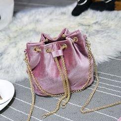 Youshine - Velvet Bucket Bag