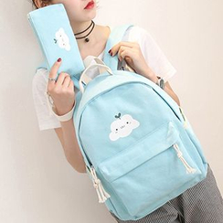 MooMoo Bags - Cartoon Canvas Backpack