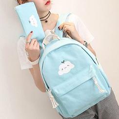 MooMoo Bags - Cartoon Canvas Backpack