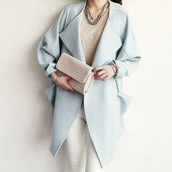 NANING9 - Oversized Open-Front Coat
