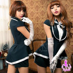 Ayoka - Air Hostess Party Costume Set