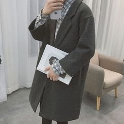 Arthur Look - Notch Lapel Single Button Coat