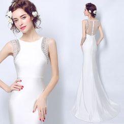 Angel Bridal - 寶石裝飾禮服