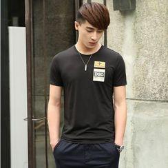 WOOG - Pocket Front Printed T-Shirt