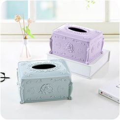 Good Living - Floral Tissue Box