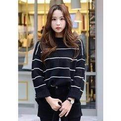 DEEPNY - Crew-Neck Striped Sweater