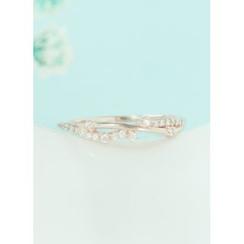 kitsch island - Rhinestone Ring