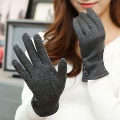 Scarflet - 飾鈕扣手套