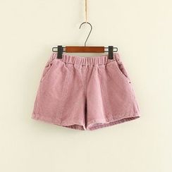 Mushi - Corduroy Shorts