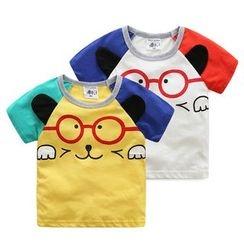 WellKids - Kids Printed Raglan T-Shirt