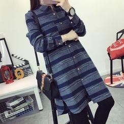 TOJI - 长袖条纹长衬衫