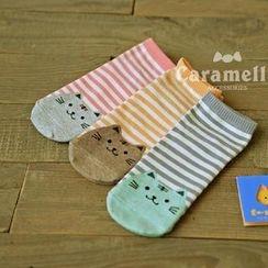 CherryTuTu - Cat Print Socks
