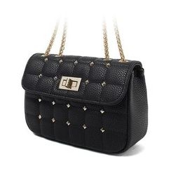 Princess Carousel - Studded Chain Shoulder Bag