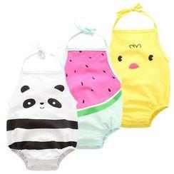 Madou - Baby Printed Halter Bodysuit
