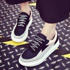 Yoflap - Panel Platform Sneakers