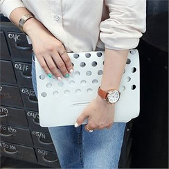 Picapica - Perforated Clutch