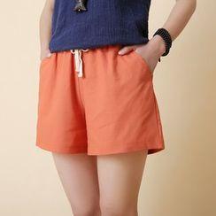 Coshield - Drawstring Shorts