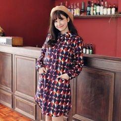 Tokyo Fashion - Printed Shirtdress