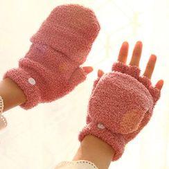 Pompabee - Coral Fleece Gloves