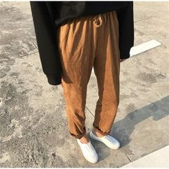 Anlay - Drawstring Tapered Pants