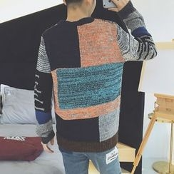 DragonRoad - Color Block Sweater