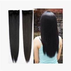 Aura Wigs - 接髪片套裝 - 直髪