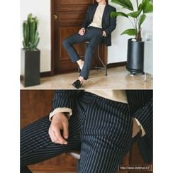 STYLEMAN - Stripe Dress Pants