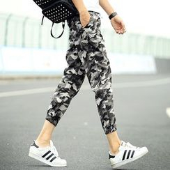 Ekinbrown - Camouflage Jogger Pants