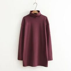 Aigan - Turtleneck Top
