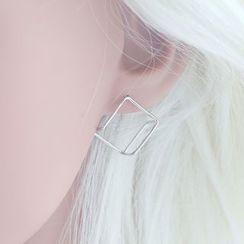 Love Generation - Wirework Cubic Earrings