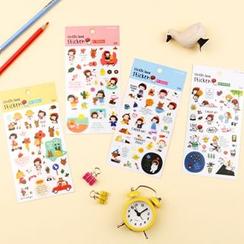 Full House - Little Girl Sticker