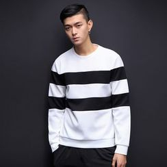 T for TOP - Long-Sleeve Color-Block Top