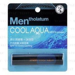 Mentholatum - Men's Cool Aqua Lipbalm SPF 15