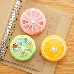 Cutie Bazaar - Fruit Slice Pill Box