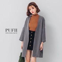 PUFII - Single Button Jacket