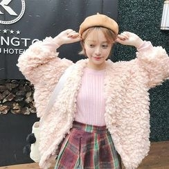 Anlay - Furry Cropped Jacket