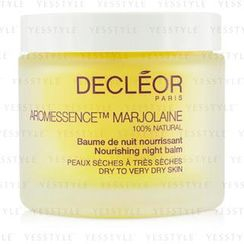 Decleor 思妍麗 - Aromessence Marjolaine Nourishing Night Balm (Dry to Very Dry Skin)