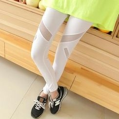 Kleggings - Mesh Panel Leggings