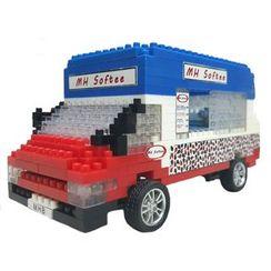 M.H. Blocks - 香港雪糕車積木玩具