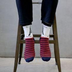 Aeoo - Patterned Socks 5Pairs