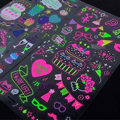 MissYou - Transparent Cartoon Stickers