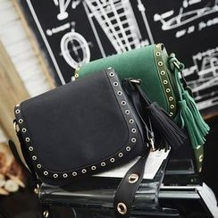 Secret Garden - Eyelet Detail Shoulder Bag
