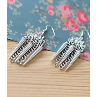 Petit et Belle - Spiky Drop Earrings