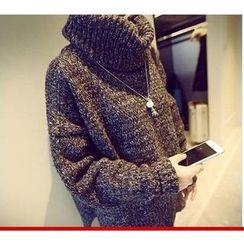 YOSH - 樽領粗織毛衣