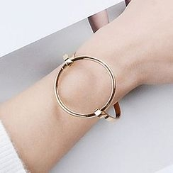 Wind Valley - Metal Ring Bangle